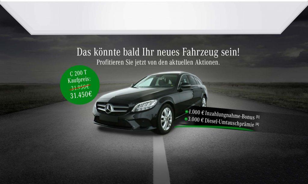 C-Klasse T-Modell für 199€ monatlich!