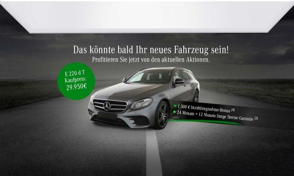 E 220 d T-Modell für 299€ monatlich!